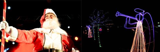 Chegada do Papai Noel + Show Pirotécnico