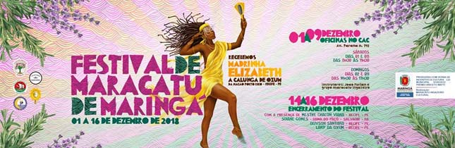 Festival de Maracatu de Maringá 2018