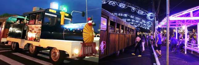 Passeio: Trenzinho Papai Noel