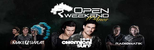 Open Weekend - Especial 10 anos
