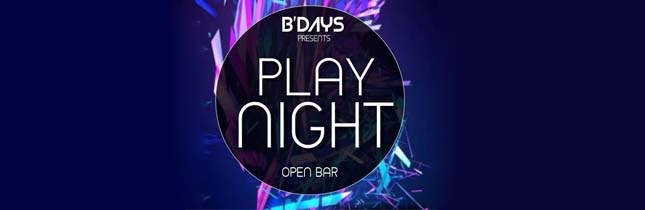 Play Night - Open Bar - Enjoy Maringá bbd0f36f5fa07