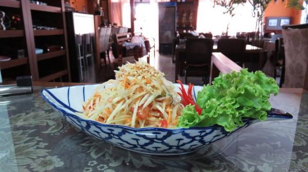 Bangkok Garden Maringá - Salada de Mamão Verde