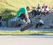 A Vila Olímpica receberá uma pista de skate e o projeto será assinado nesta quinta