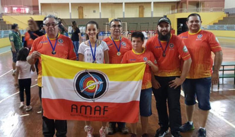 Arqueiros de Maringá conquistam cinco medalhas em Toledo