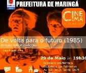 'De volta para o futuro' no cinema a céu aberto em Maringá