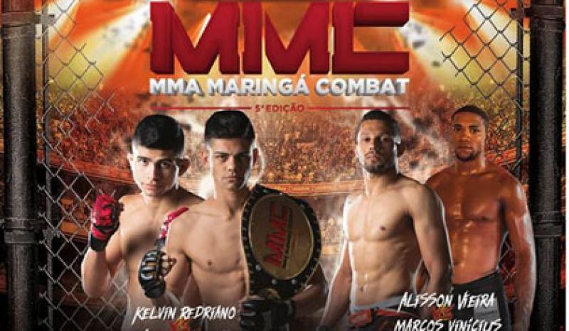 MMA Maringá Combat terá 13 lutas e sete categorias