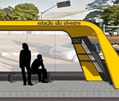 Novo modelo de abrigo garante mais conforto aos usuários de ônibus em Maringá