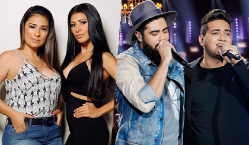 Show da Simone e Simaria e Henrique e Juliano são confirmados na Expoingá 2018