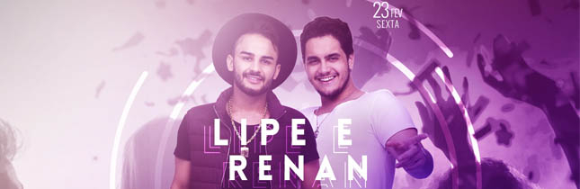 Lipe e Renan